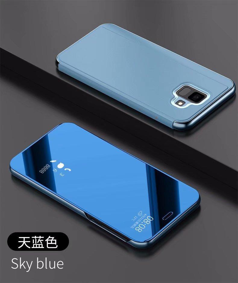 Fitur Samsung Galaxy J6 2018 Flip Cover Fashion Tidur Otomatis