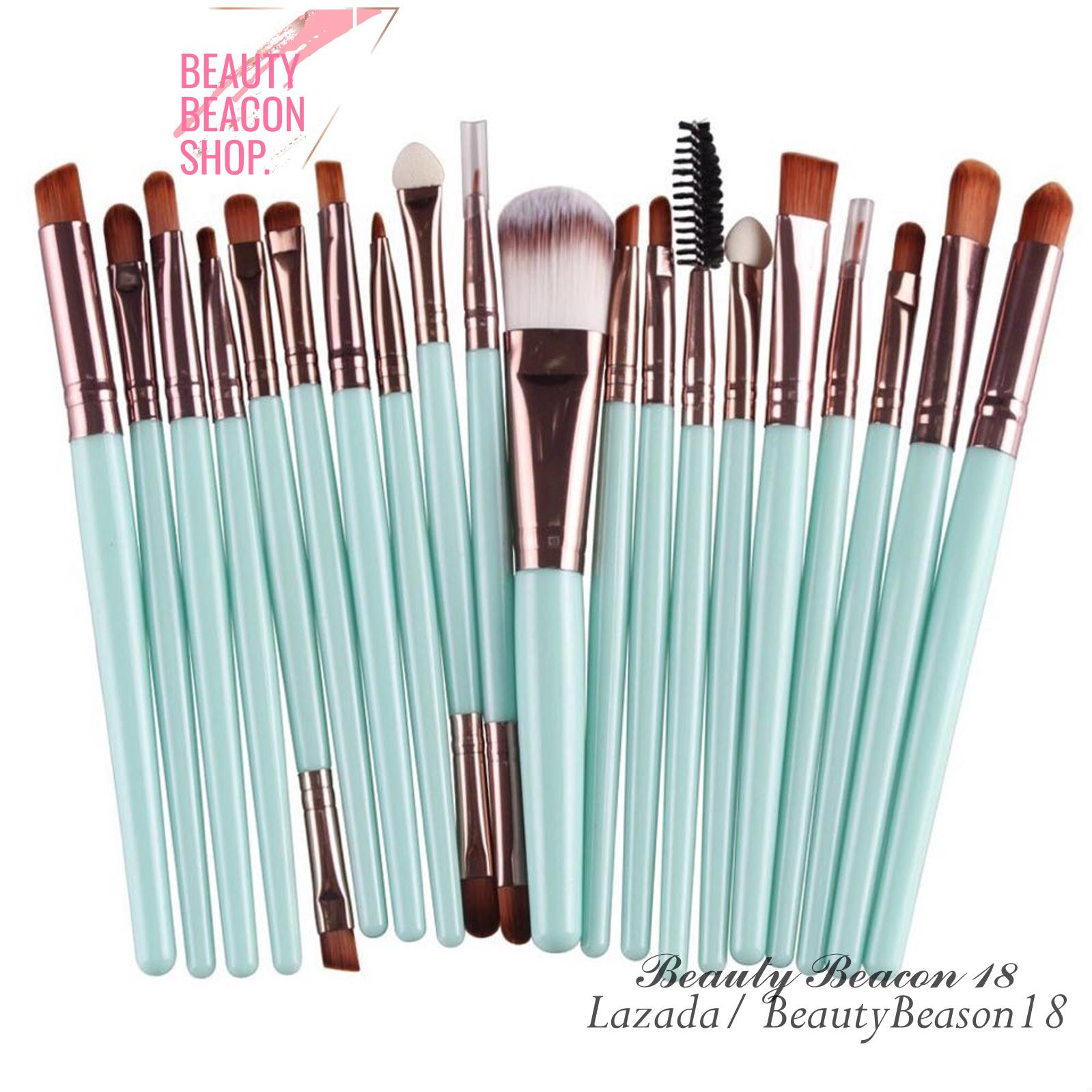 Professional Women Makeup Brush Sets 20 Pcs ( Tiffany Green ) Philippines