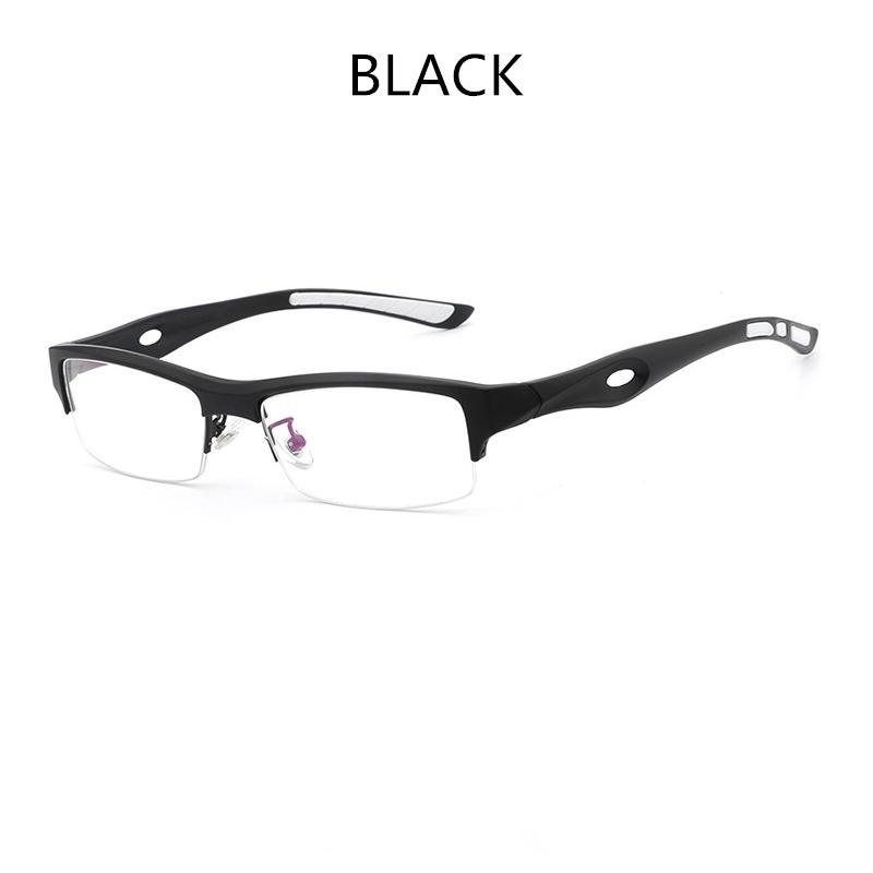 Hdcrafter Kacamata Minus Frame Pria TR90 Optik Wanita Bingkai Kacamata  dengan Jelas Lensa Kacamata Komputer Membaca 90c48ac2c4