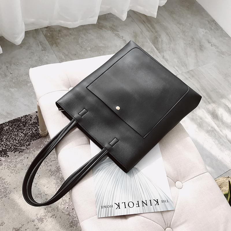 2019 New Style Womens Bag Literature And Art Korean Style Students Large Capacity Simple Versatile South Korea CHIC Hand Messenger Bag
