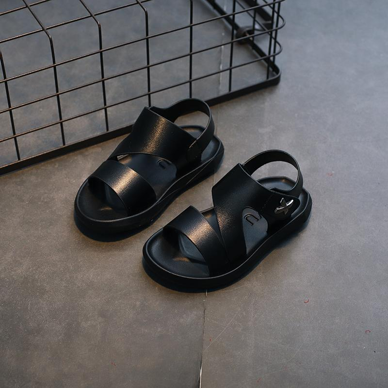 Boys Sandals 2019 New Style Korean Style Summer Childrens Sandals Anti-Slip Big Boy Kids Soft Bottom Baby Sandals By Taobao Collection.