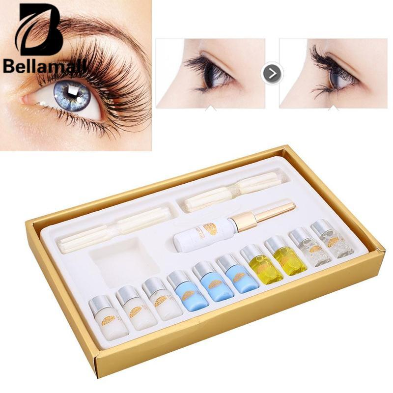 Bellamall:Eyelash Wave Lotion Curling Perming Curler Perm DIY Eye Lash Extension Kit Set - intl Philippines
