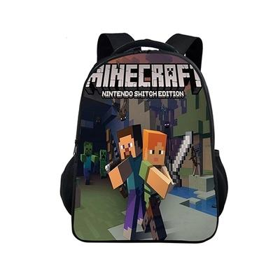 MineCraft Cartoon Backpack Boy Teenager Cartoon Backpack School Bags for  Boys and Girl Mochila Sac A ec8afad861b64