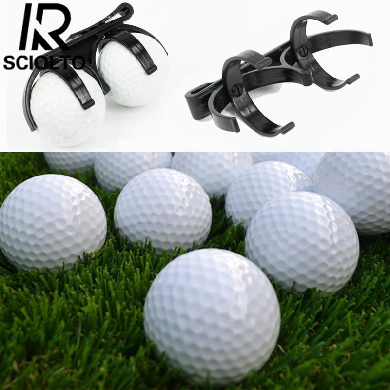 SCIOLTO SPORTS:Golf Ball Holder Clip Organizer Golfer Golfing Sporting Training Tool Accessory
