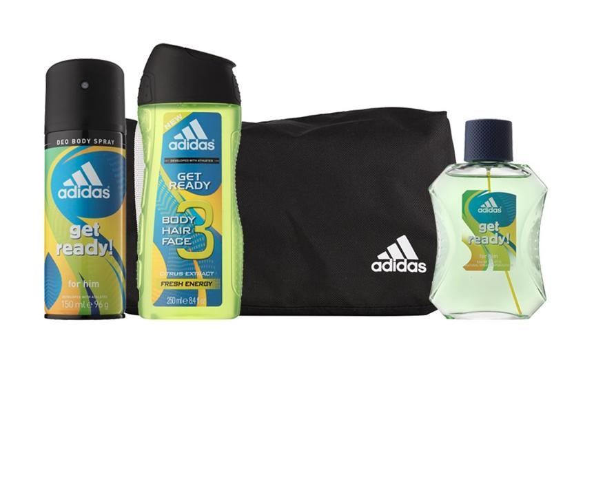 cd1391c9eb95 Adidas Get Ready for Him Set (Eau de Toilette 100ml + Deo Spray 150ml +