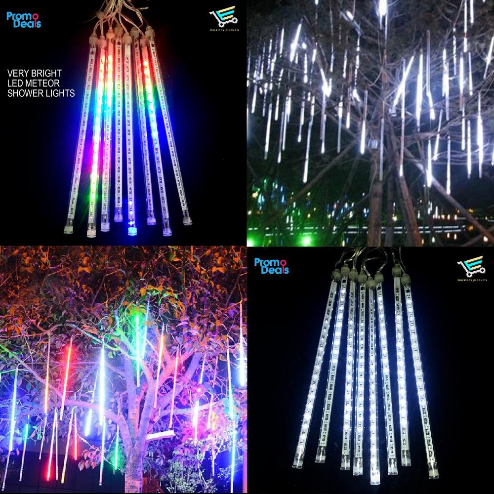 Buy 1 Take 1 Led Meteor Shower Christmas Lights 50cm White