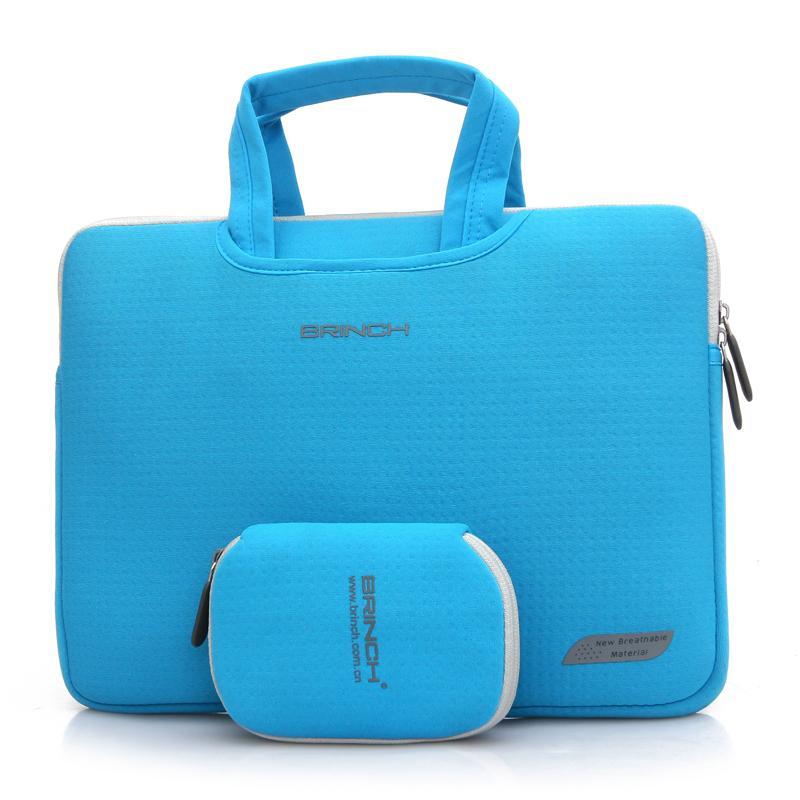 BRINCH notebook 15.6 inci 14-inch Tas laptop Model pria 13.3 wanita genggam tas bahu dengan satu tali Sarung laptop thinkpad e470c Lenovo Y7000p trendi kecil 7000 Casing kantongan