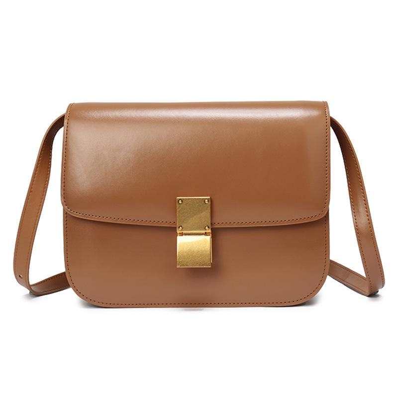 d9dd6bcee321 131 items found in Tote Bags. 2 Color 2018 Summer New Women s Bag Leather  Diagonal Women s Bag Mirror Leather Cowhide Tofu Bag