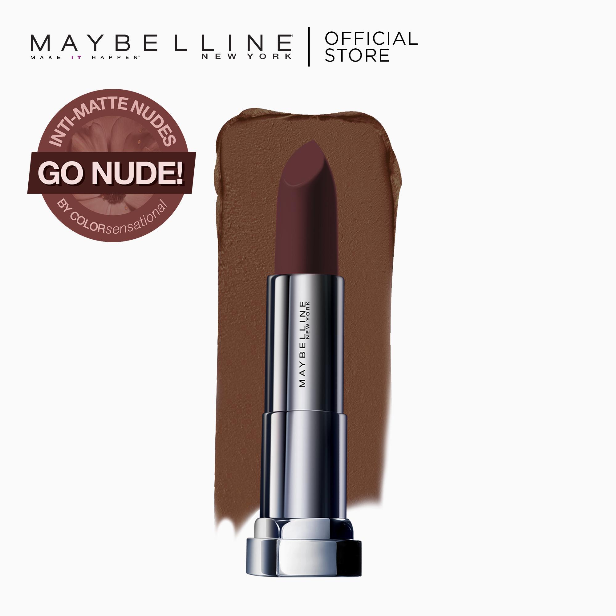 Maybelline Color Sensational Powder Matte Lipstick (Raw Cocoa) Philippines