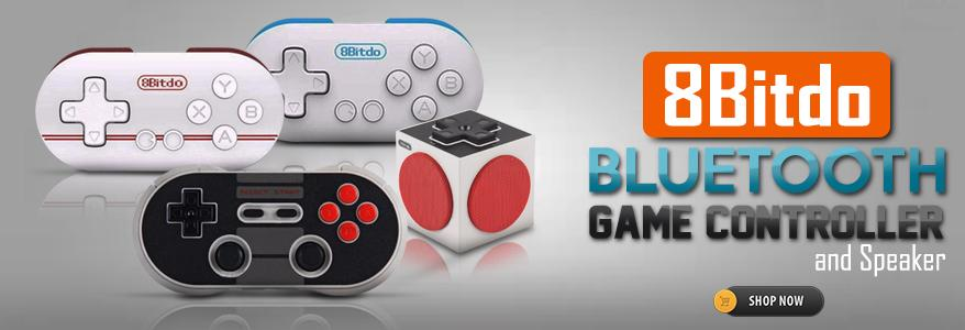8Bitdo NES30 Pro Wireless Bluetooth Gamepad For iOS Android PC Mac