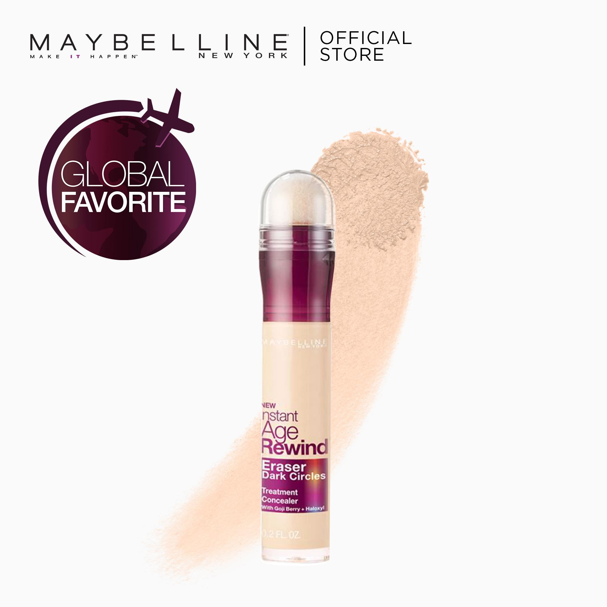 Instant Age Rewind 2-in-1 Concealer+Treatment - 100 Ivory [Global Favorite] by Maybelline Philippines