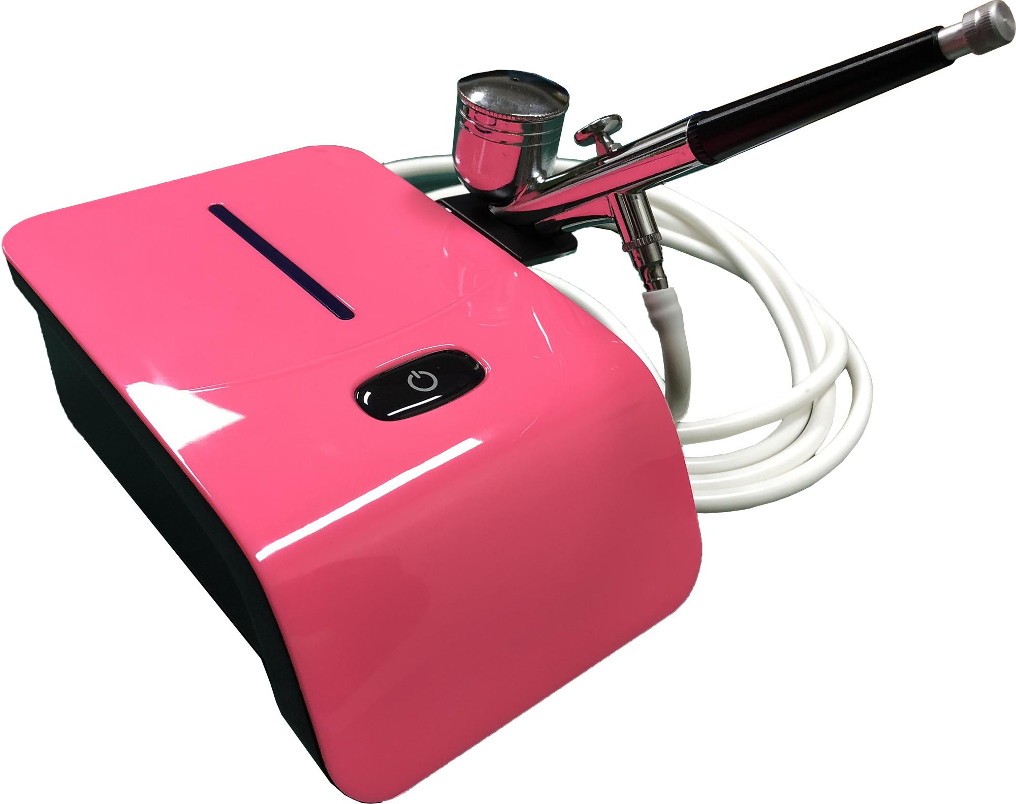 Mini Air Compressor and Airbrush Set Solid Pink Philippines