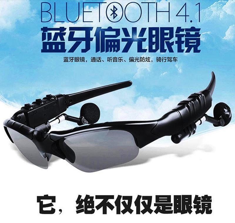 Pintar Kacamata Bluetooth Headphone Nirkabel Olahraga Bluetooth Laporan Suara Musik Pemutar Kacamata Hitam Bluetooth Headset-
