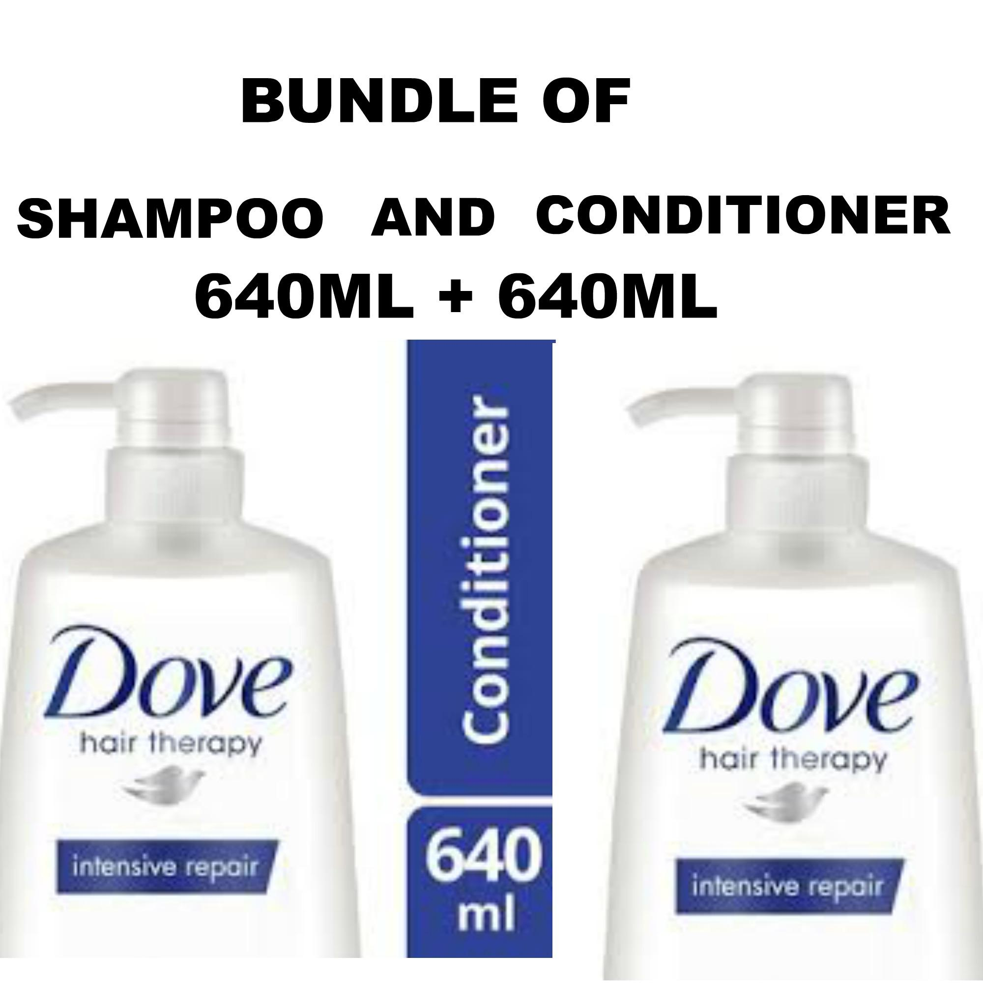 Hair Conditioner Brands Shampoo On Sale Prices Set Dove Total Damage Treatment 320 Ml Bundle Of Intense Repair 640ml