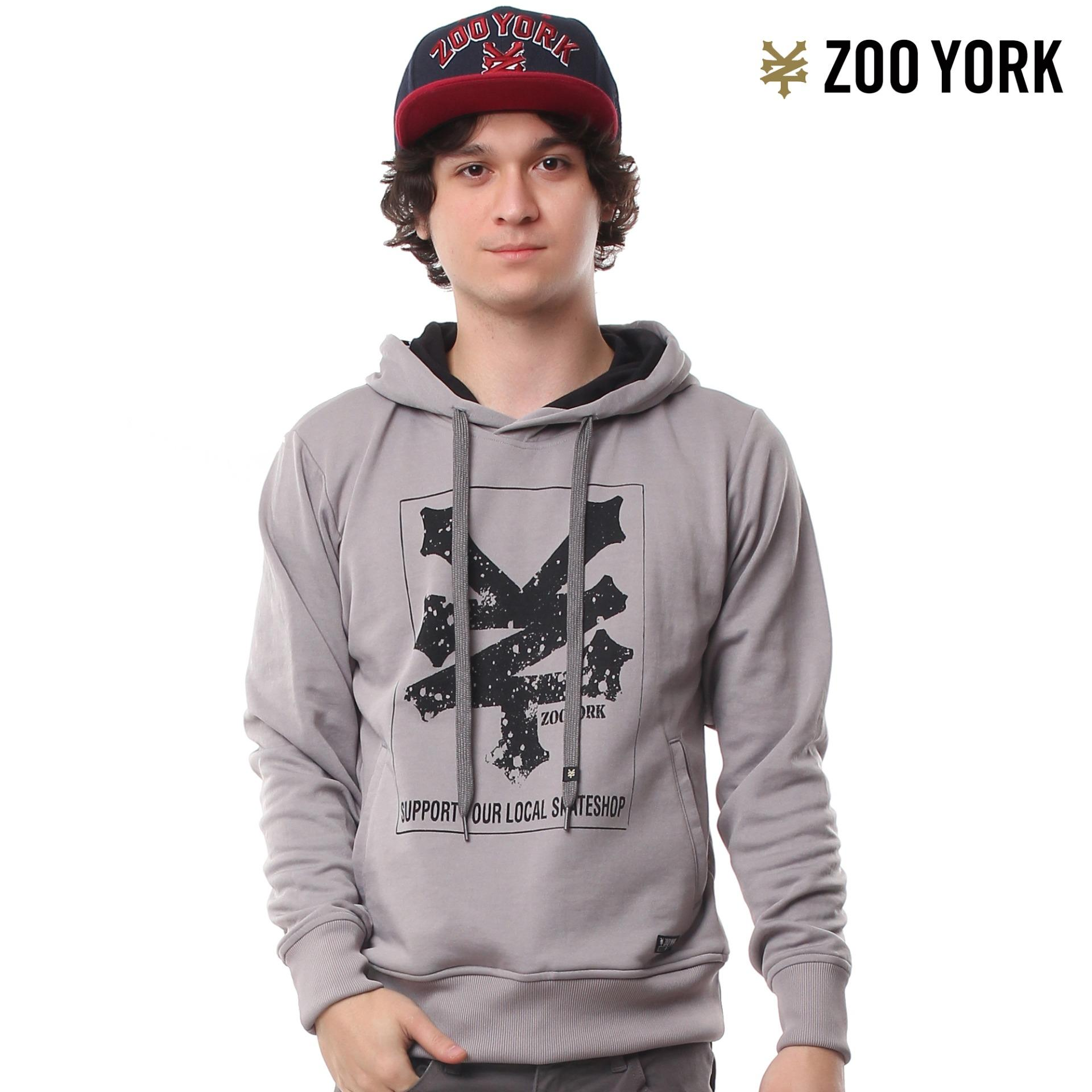 Zoo York Boys Hooded Pullover Sweater Jacket Skater Fit