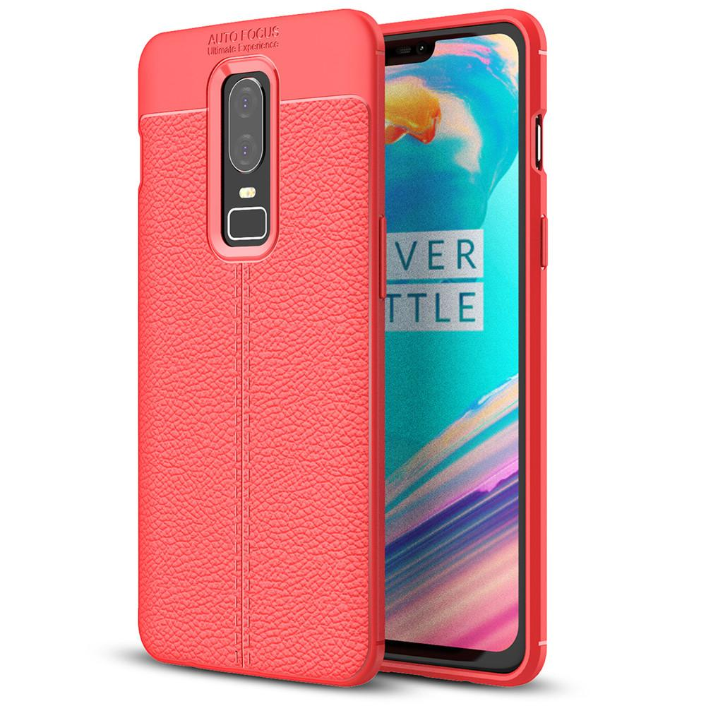 Lenuo explosion-proof TPU case for OnePlus 6 soft mobile phone cover for OnePlus 6