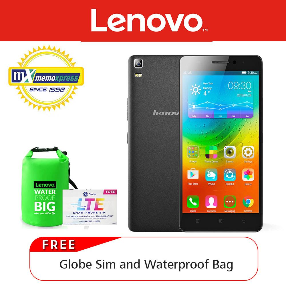 Lenovo A7000 Plus 16gb Black With Free Water Proof Bag And Sim Aliexpress Original Case Battery