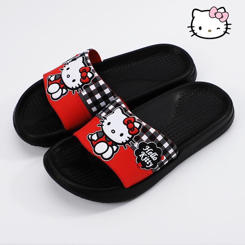 HelloKitty Sepatu Anak HELLO KITTY Sepatu Putri Anak-anak Sandal Anak Balita dan Diatas Balita