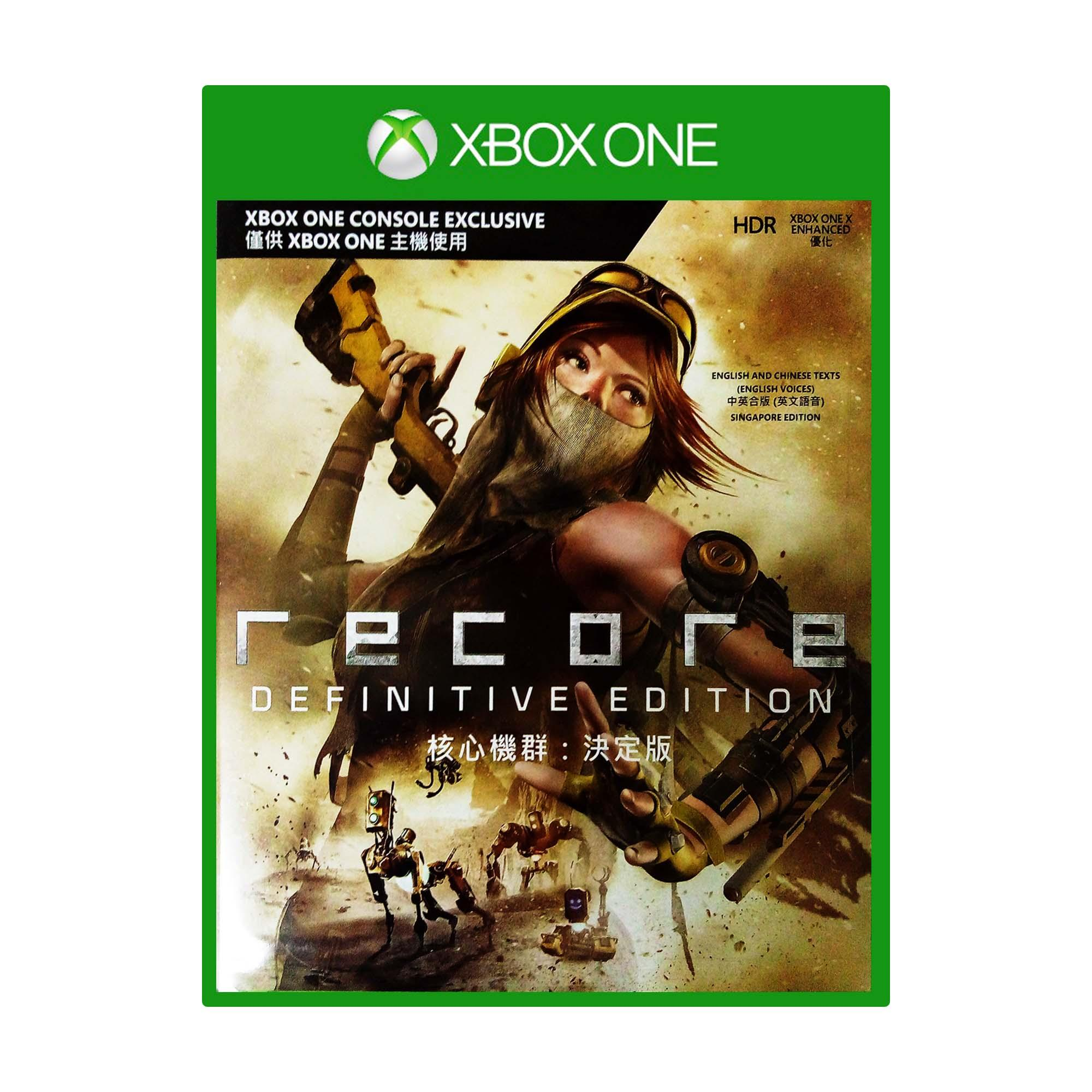 Xbox One Games For Sale 360 Prices Brands Specs In Mx Gp 2 Cover English Re Core Definitive Edition