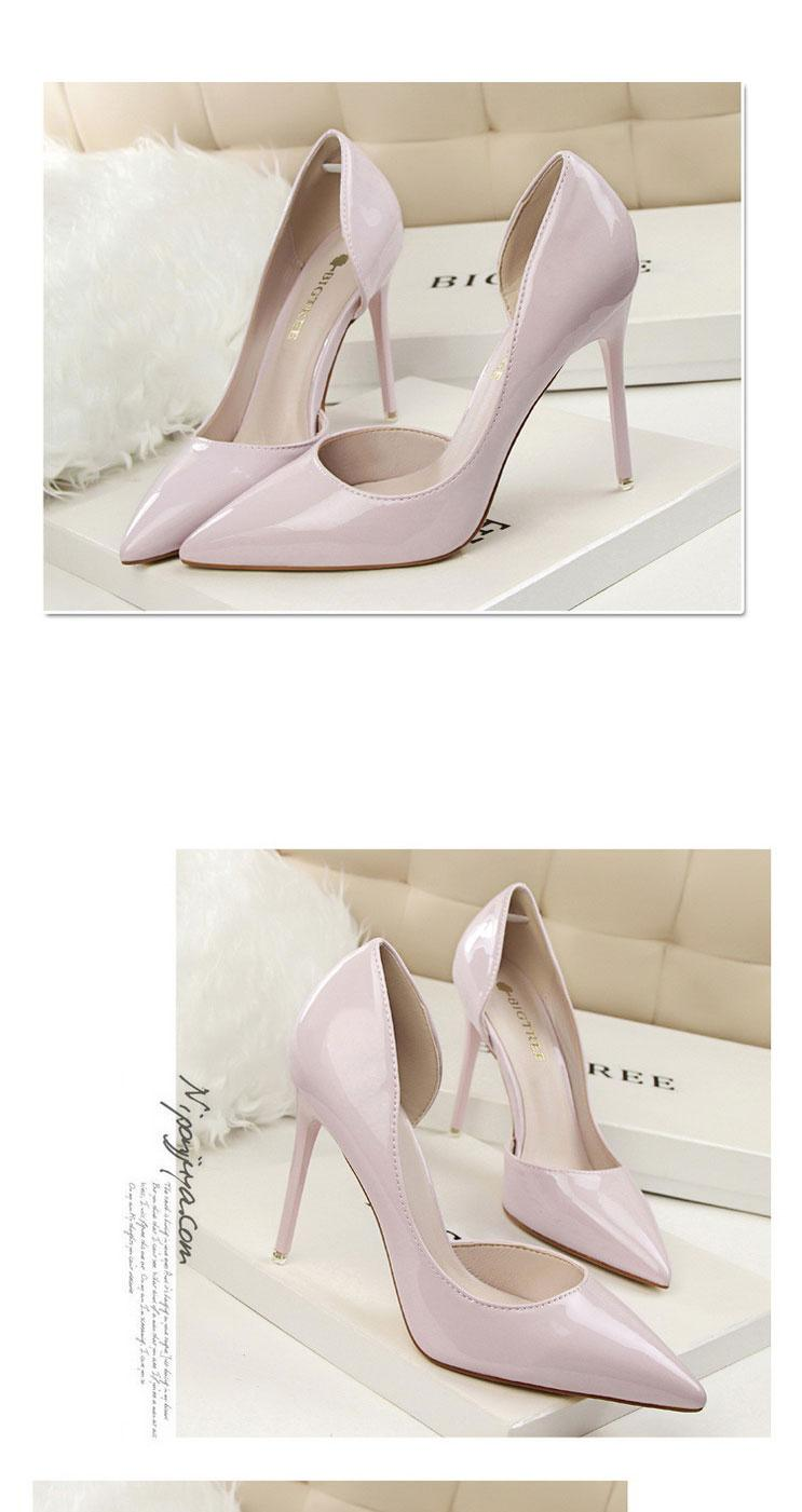 36f3c8bd80b Fashion High Heels Shoes Women Slip-On Pumps Shoes Ladies High Heels Shoes  Woman Casual Pointed Shoes Large Size 34~40