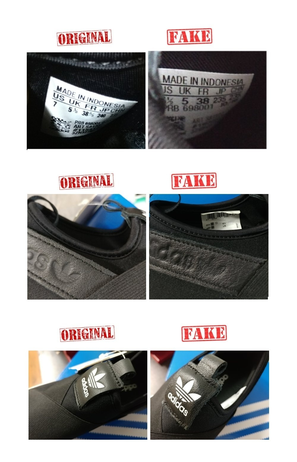 Adidas Originals Superstar Slip On Shoes S81337 Black White Lazada Ph