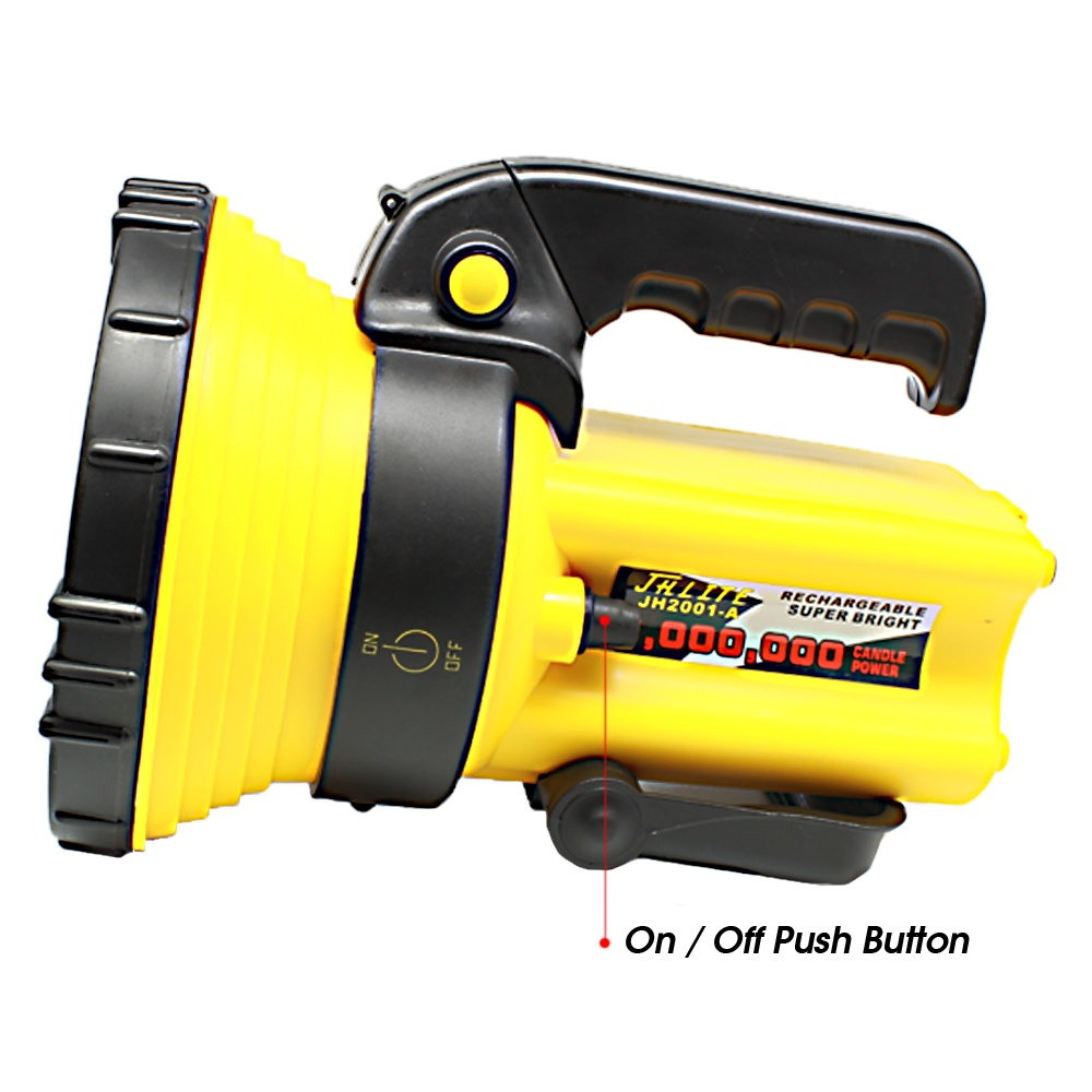 JHLITE Heavy Duty Rechargeable Industrial Flashlight