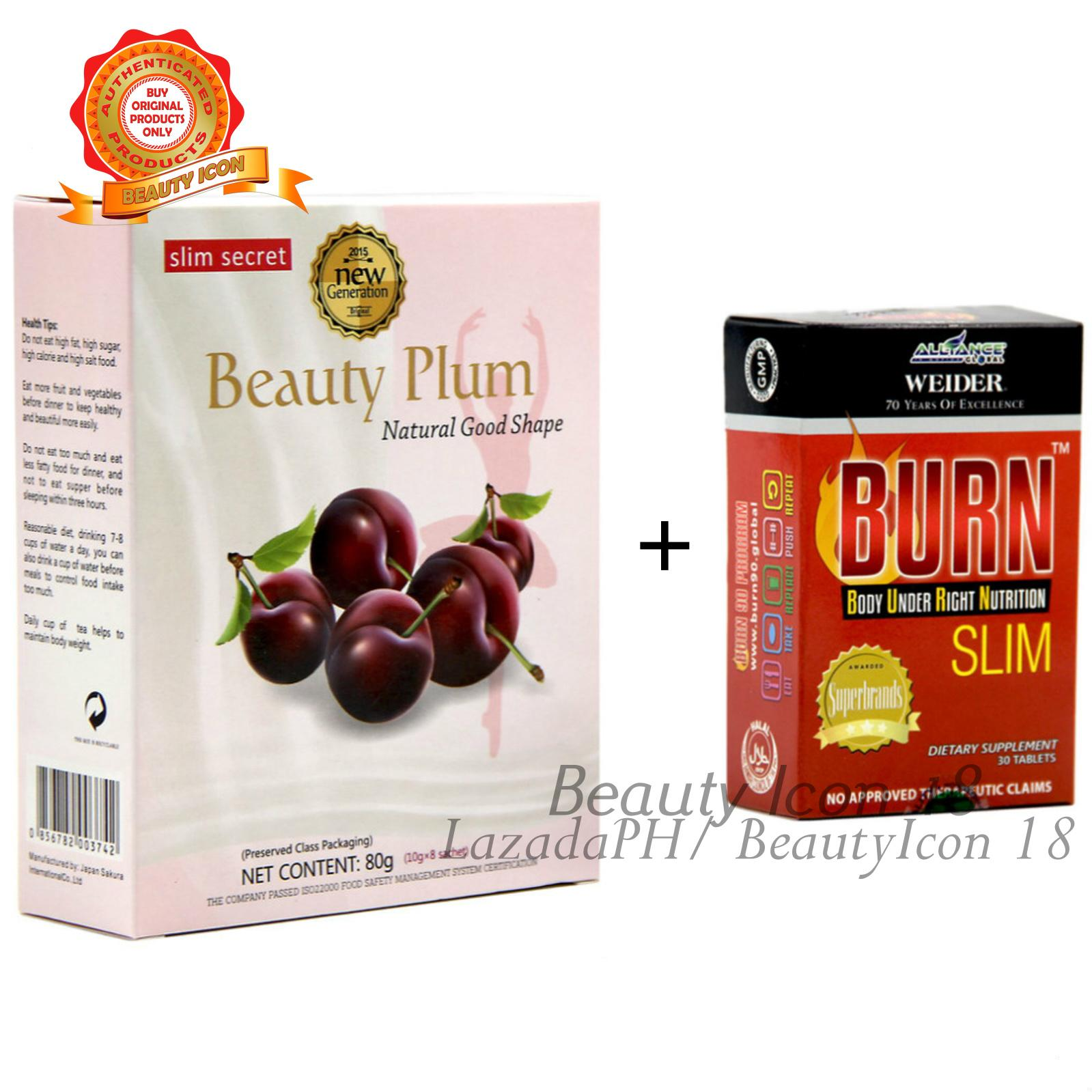 Buy Sell Cheapest Plum Best Quality Product Deals Philippines Store Optrimax Big Box Super Slim Detox Set Burn Slimming Tablets Beauty Candy