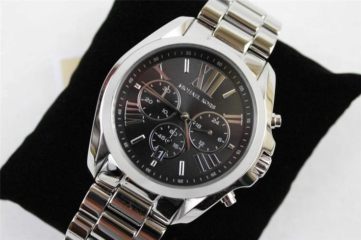 d892a71b2eae Product details of MK Silver-Tone Sport Watch MK 5705
