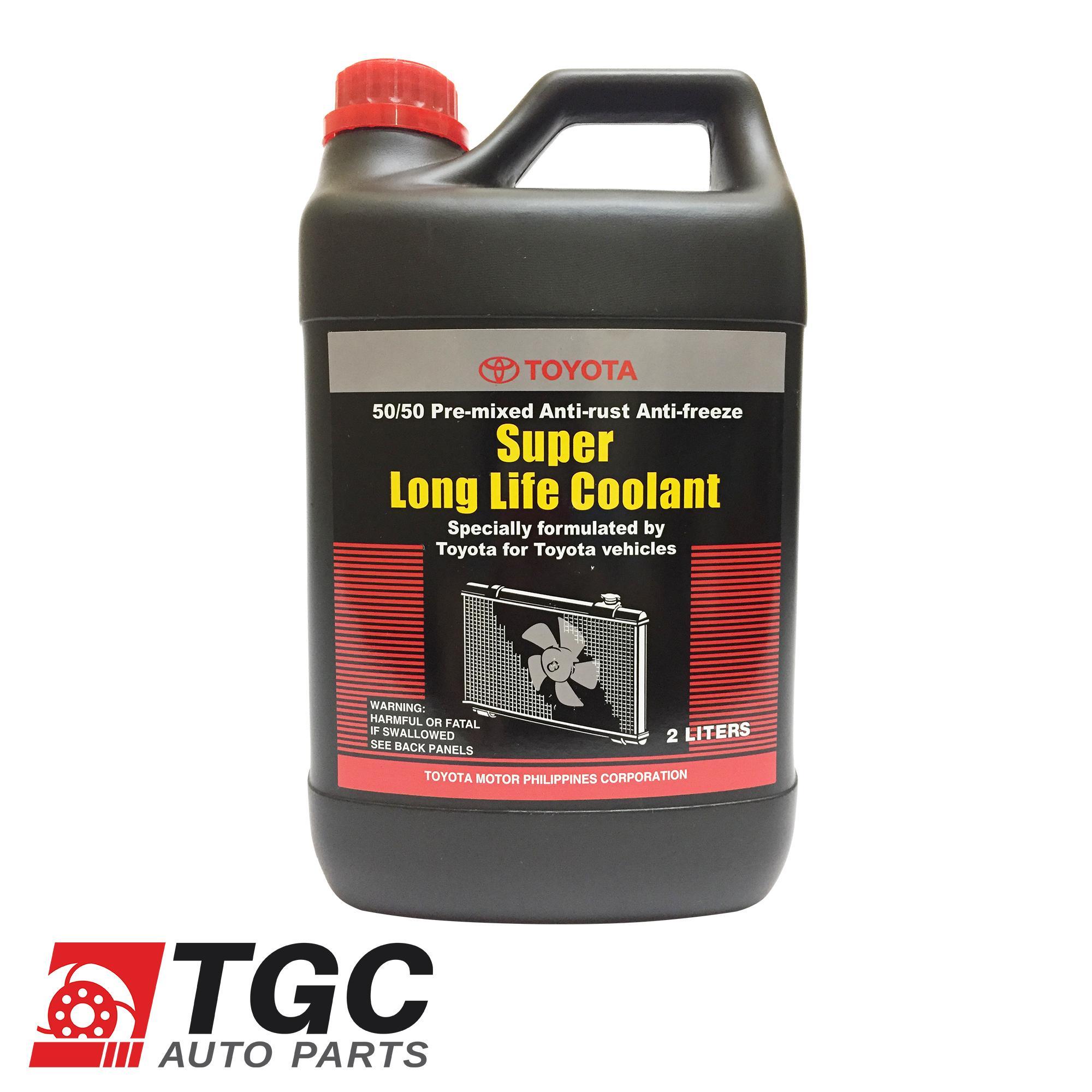 Toyota Super Long Life Coolant 50/50 Pre Mixed Anti Rust Anti