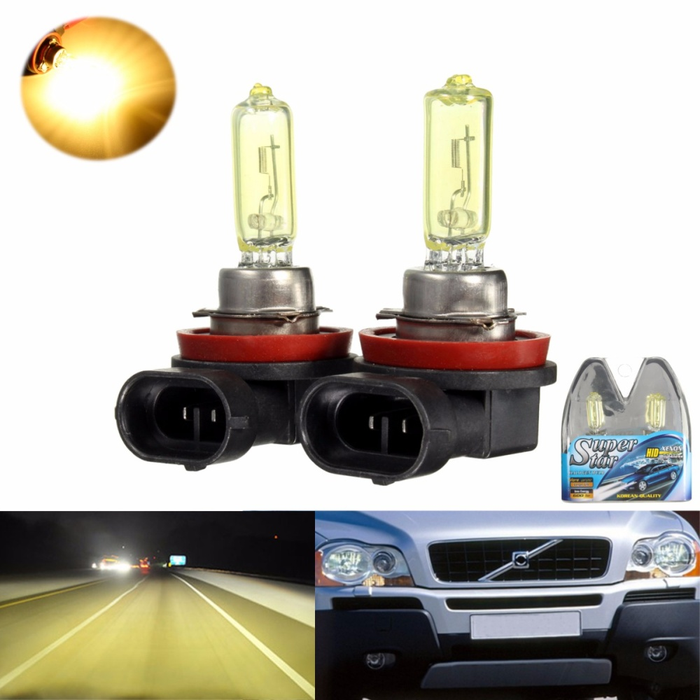 H11 Golden Yellow Xenon Hid Halogen Headlight Bulbs Lazada Ph Headlamp Ampamp Foglamp 3s 2 Gas Filled 3 Better Visibility Driving At Night Bright And Long Lasting 4 Easy To Install Neednt Change Circuit
