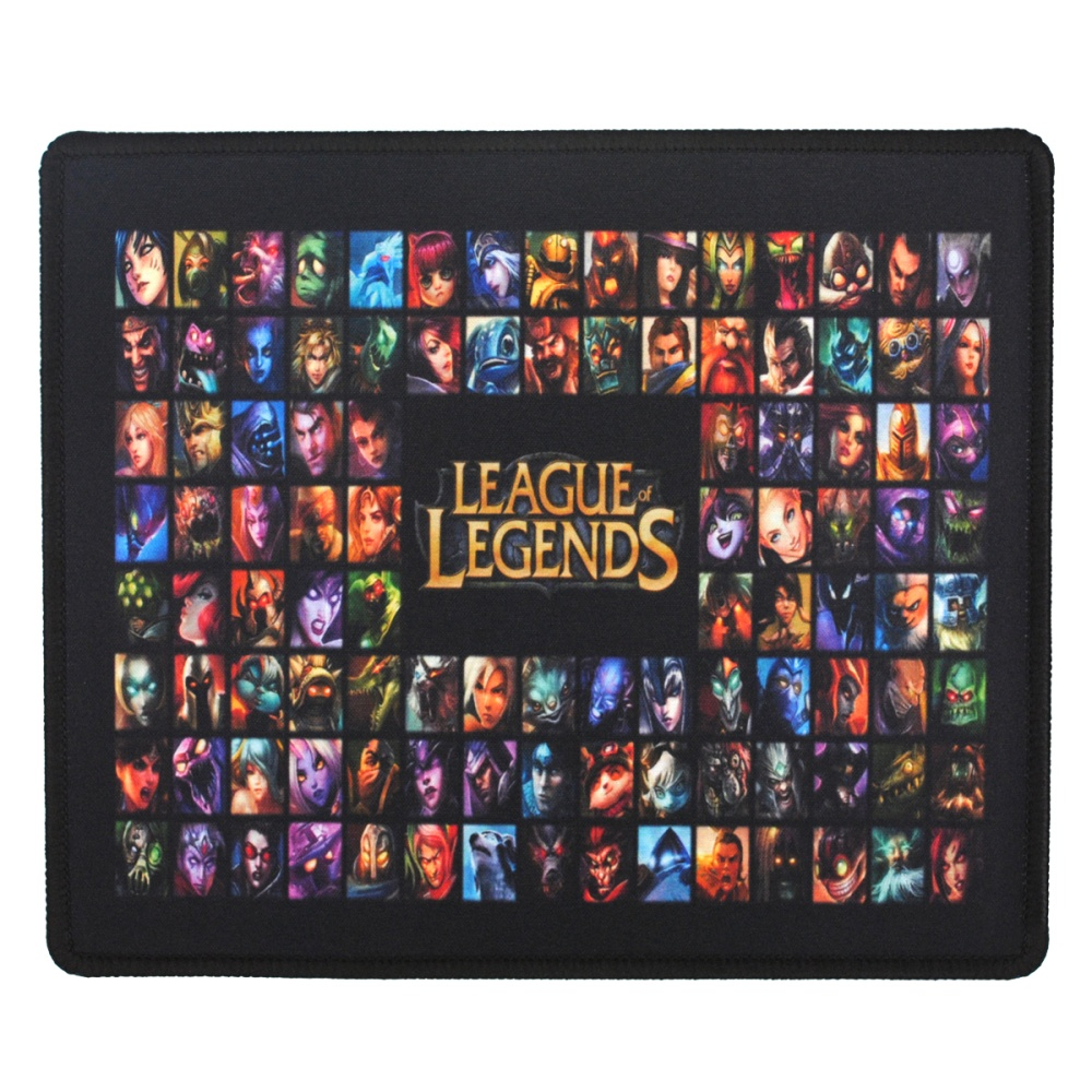 LOL League of Legends Mouse Pad Gaming Mousepad Set of 10