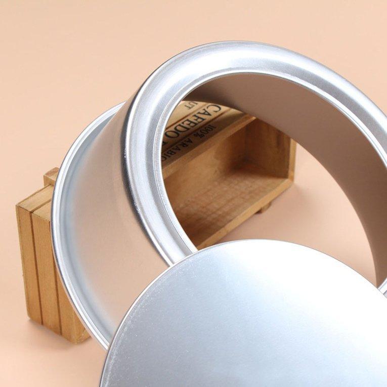 2/4/5/6/7/9/10/11/12/14 นิ้วอลูมิเนียมโลหะผสมทรงกลม Shape Baking กระทะแม่พิมพืเค้ก By Yunuodi.