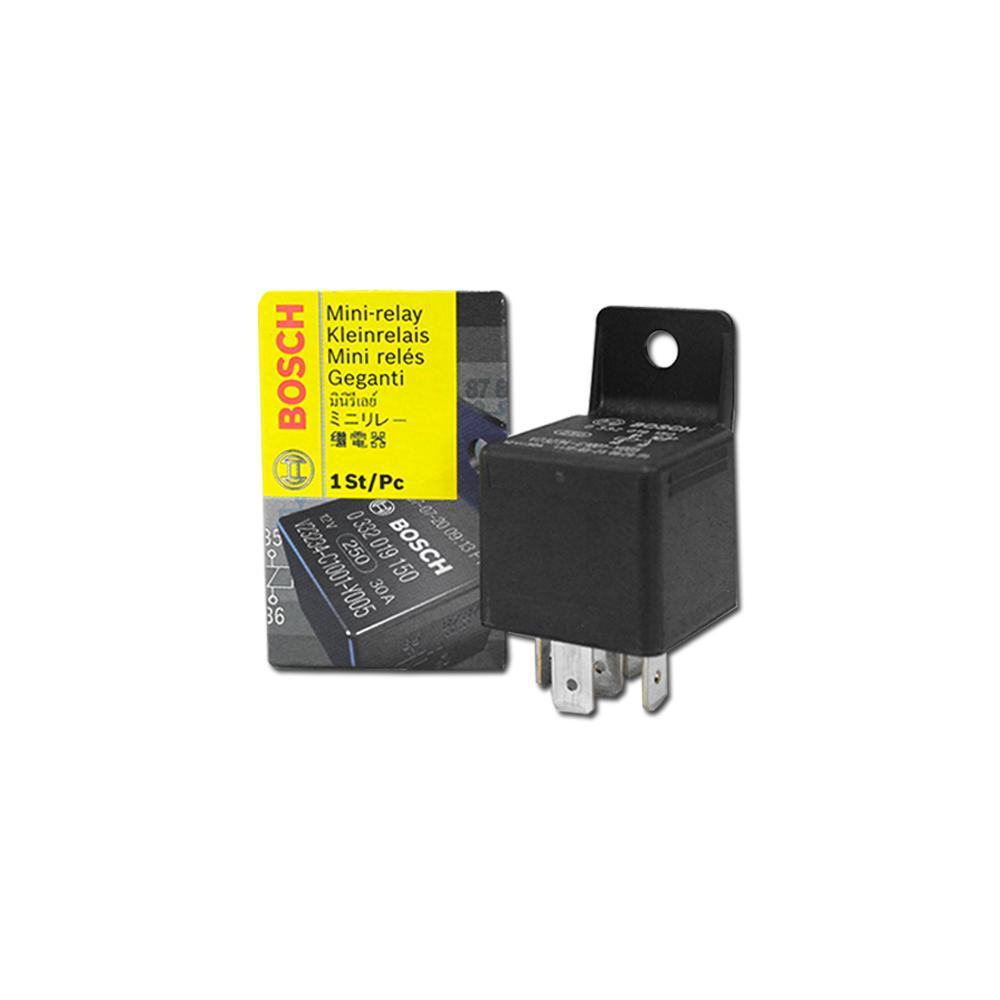 Bosch Auto Mini Relay 12V 30A 5-PIN