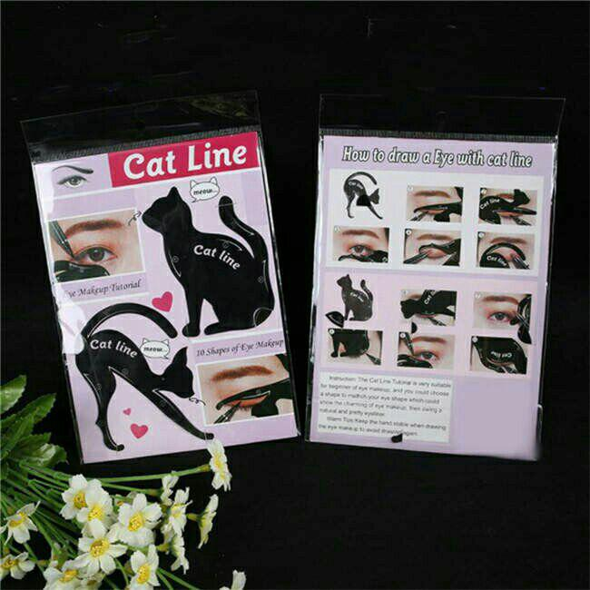 Catline -a pair of eyeliner guide Philippines
