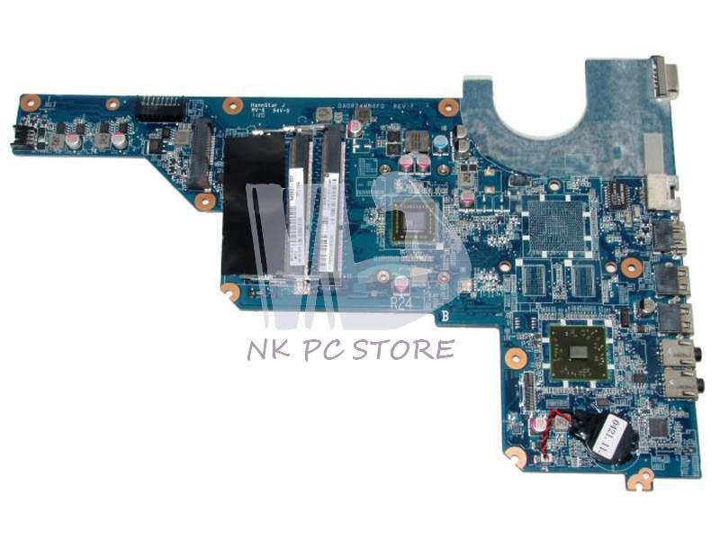 Nokotion 645529-001 Utama Papan untuk HP Pavilion G4 G6 Motherboard Laptop Prosesor Onboard DDR3