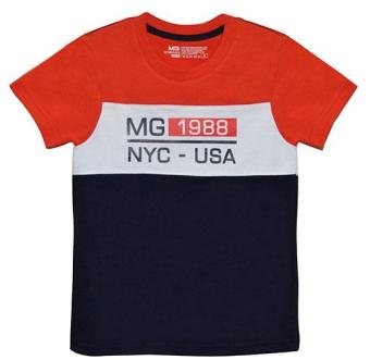 Moose Gear Red/White/Navy Blue Tee (TS-P 6028)