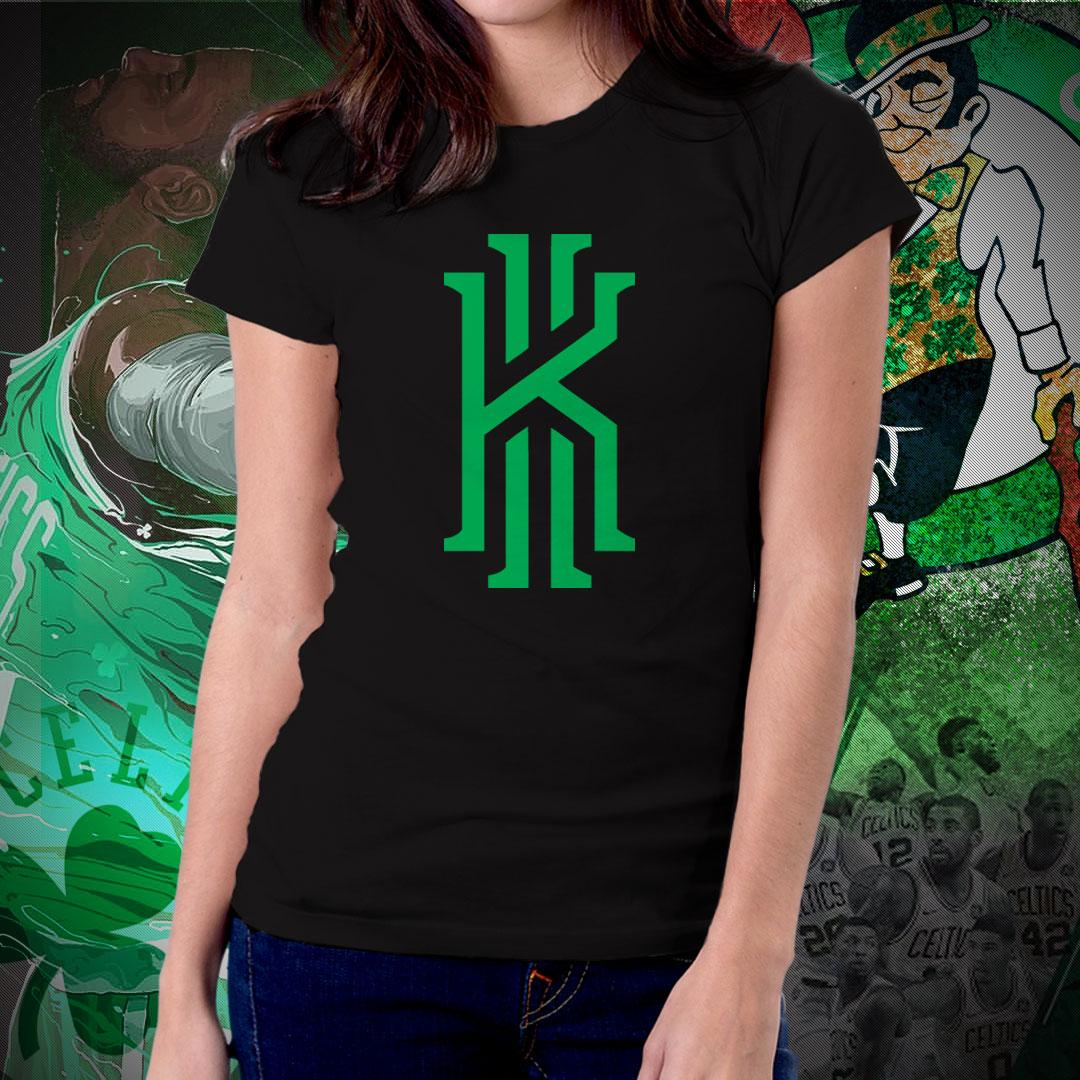 NBA Sports Basketball Team Boston Celtics T-shirt for Women - Kyrie Irving Uncle  Drew e4771f5b3