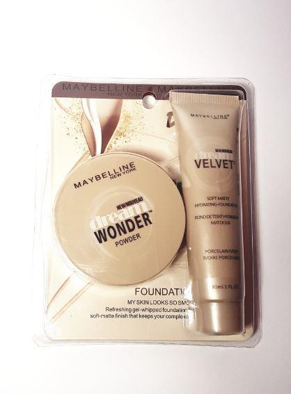 Maybelline Dream Wonder Foundation+Powder Philippines