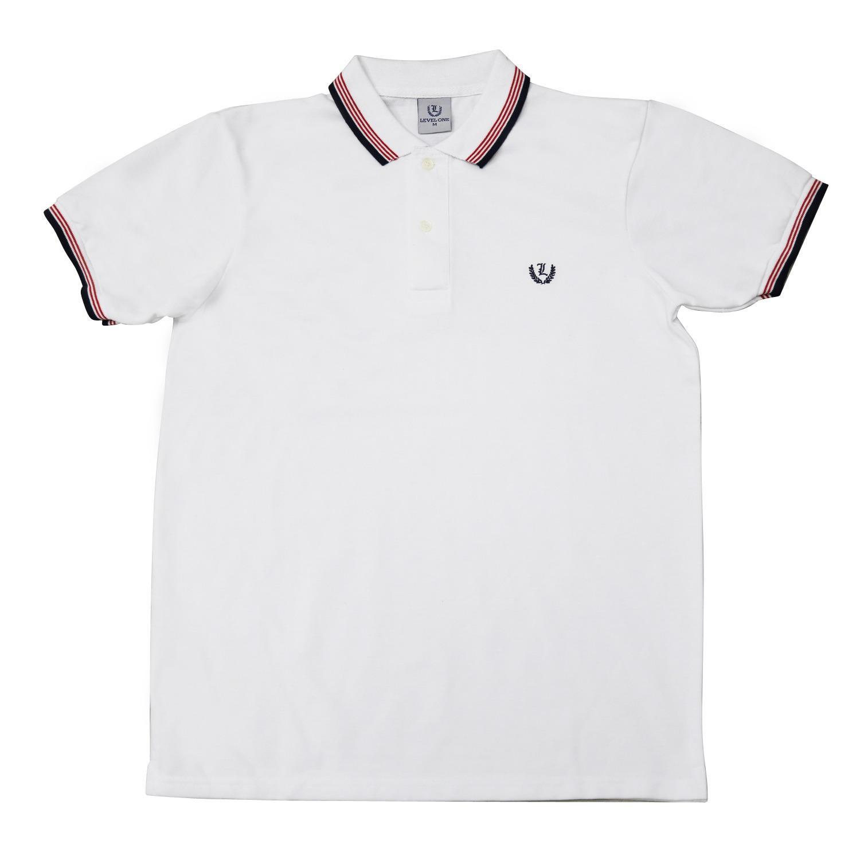 Men\u0027s Big and Small Stripes Polo Shirt w/ \
