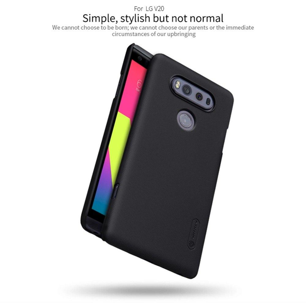 cheap for discount 7a0cb 164de For LG V20 case NILLKIN Super Frosted Shield matte hard back cover case For  LG V20 H990N 5.7'' phone cases