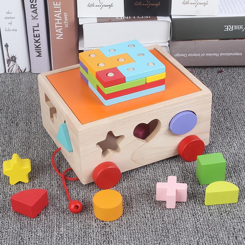 SdiP Mainan Balok mainan bayi pendidikan usia dini anak laki-laki Edukatif