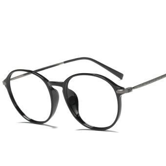 Pencarian Termurah 眼睛框 Bingkai Kacamata tr90 bingkai kacamata wanita Gaya  Korea pasang Retro pria Bisa bf07be4084