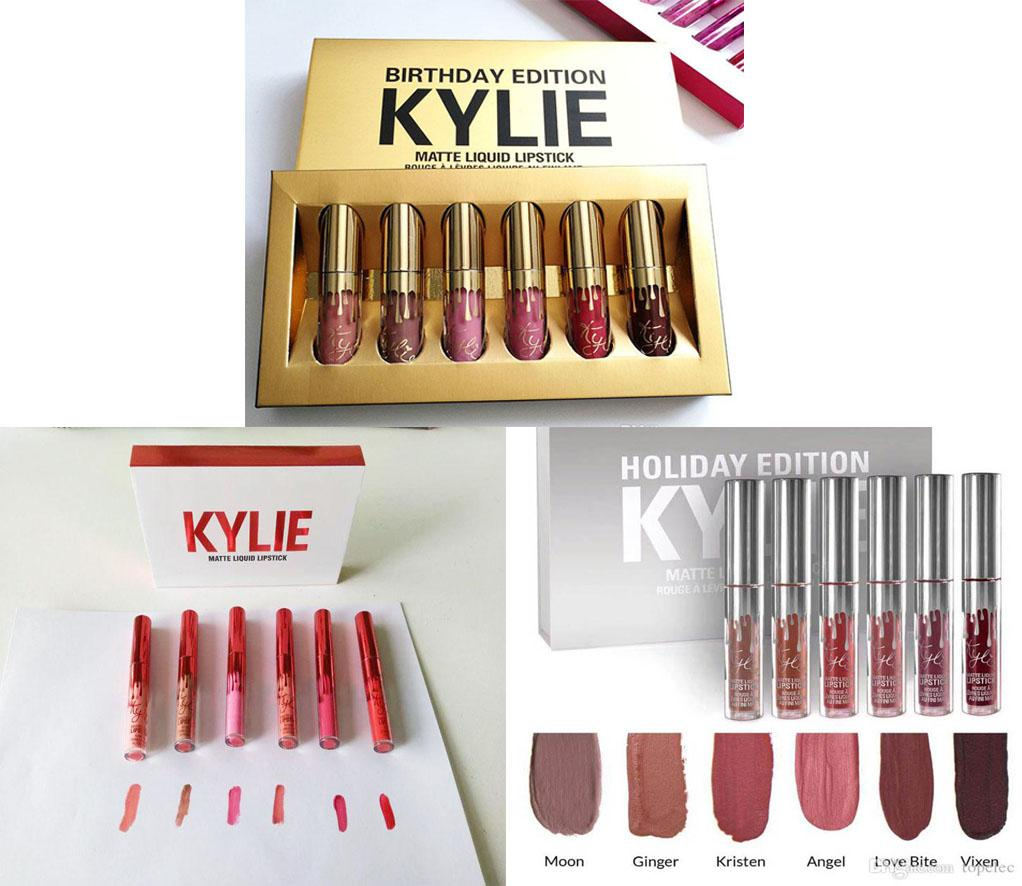 LOVE&HOME 3 Sets KYLIE MATTE LIQUID LIPSTICKS EDITION 6 SHADES Philippines