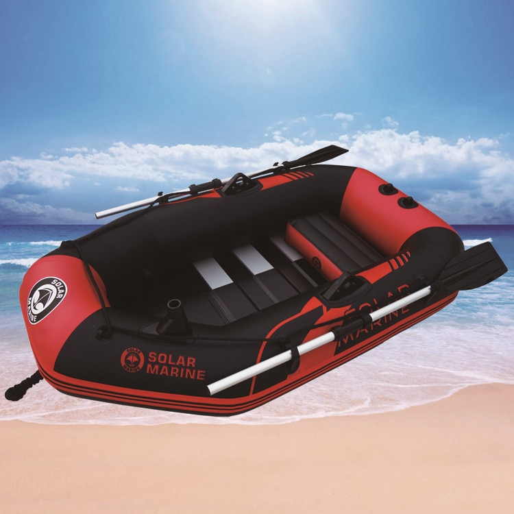 Speedlite rubber boat thickening inflatable boat 1/2/3/4/5/6 people fishing  boat hard bottom wire clip net boat kayak