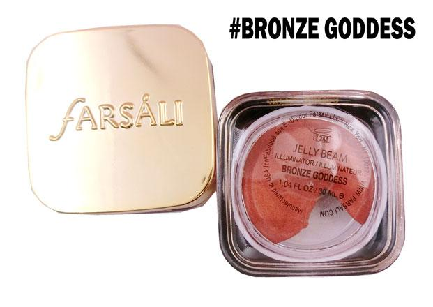 FARSALI Jelly Beam Illuminator/Highlighter-BRONZE GODDESS Philippines