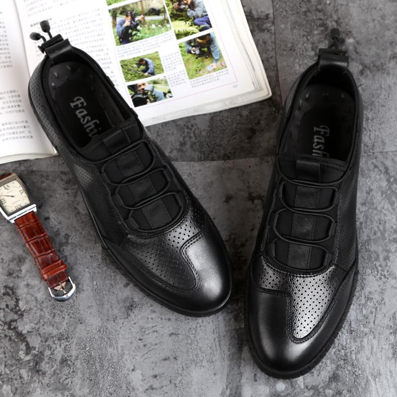 ... Zowie Kulit Sapi Pria Sepatu Formal Pria Fashion Pria Kualitas Tinggi Sepatu  Kulit Oxford Pria Sepatu ... 4c5f41b519