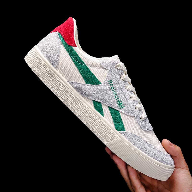 2019 Model Baru Musim Panas Gaya Korea Tren Kain Kanvas Sepatu Pria Netral Olahraga Santai Murid Sol Datar Sepatu Sneaker Pria Sepatu Trendi By Koleksi Taobao.