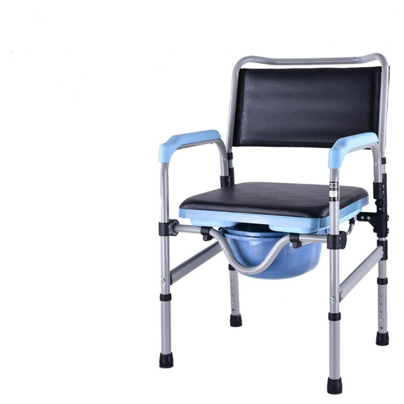 The Aged Old People Patient Commode Chair Pregnant Woman Toliet Seat Stool Movable