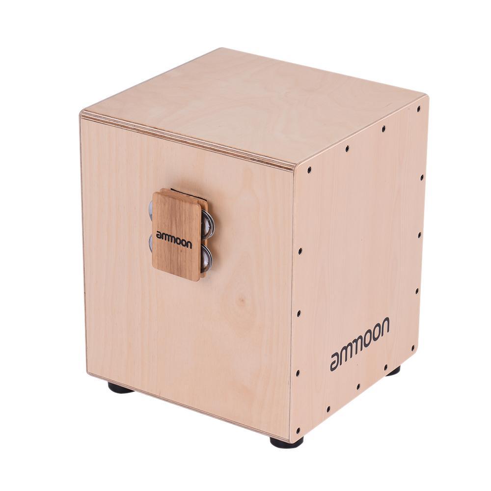 Cajon Box Drum Aksesori Pendamping 4-bell Jingle Castanet untuk Instrumen Perkusi Tangan-Intl
