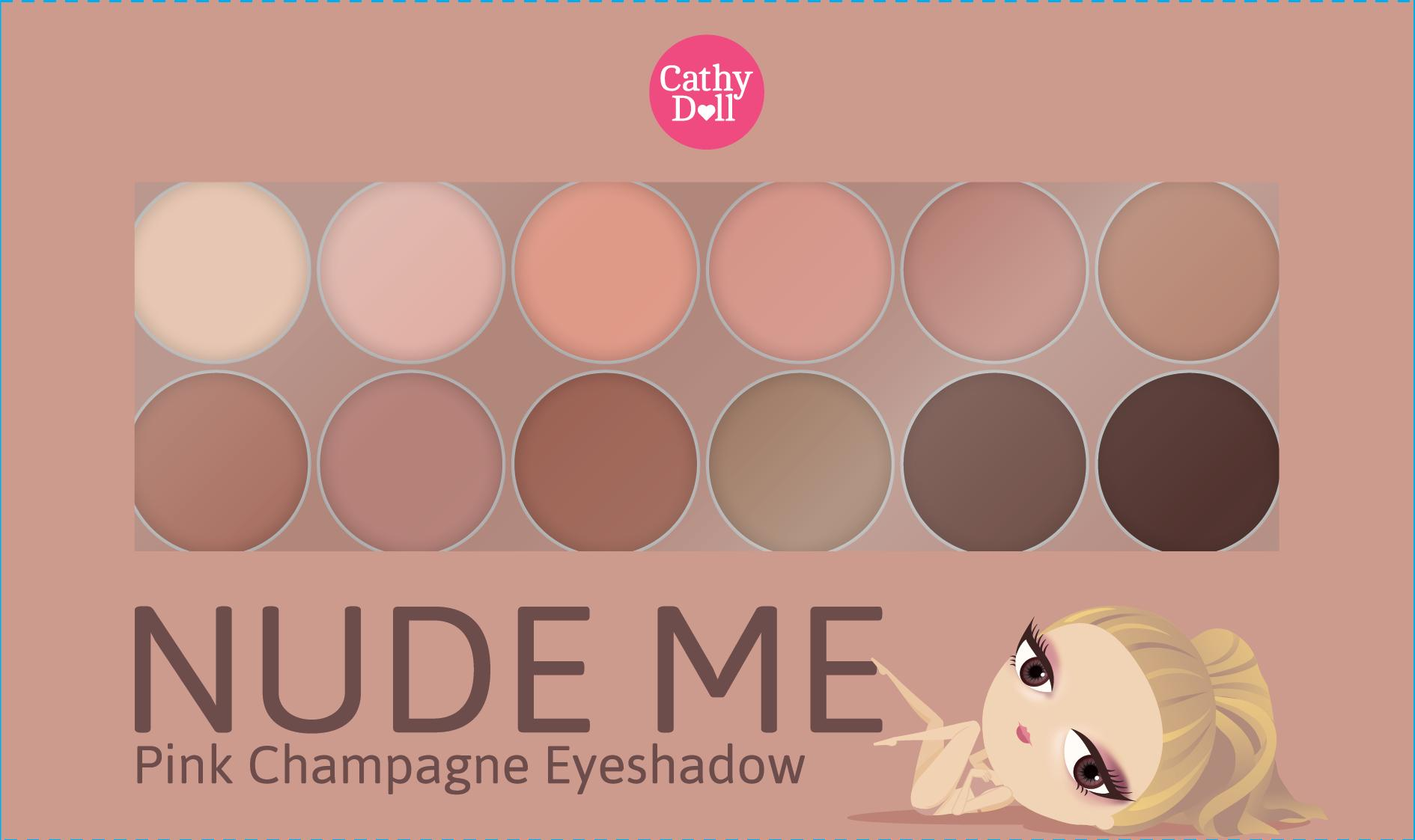 CATHY DOLL  Nude Me Eyeshadow # 03 Pink Champagne Philippines